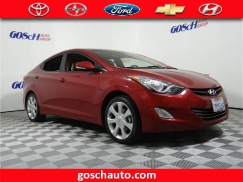 Pre-Owned 2013 Hyundai Elantra Limited PZEV Front Wheel Drive Sedan